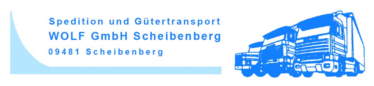 Spedition und Gütertransport Wolf GmbH Scheibenberg